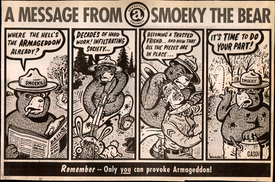 A Message From Smoky by M.Wartella